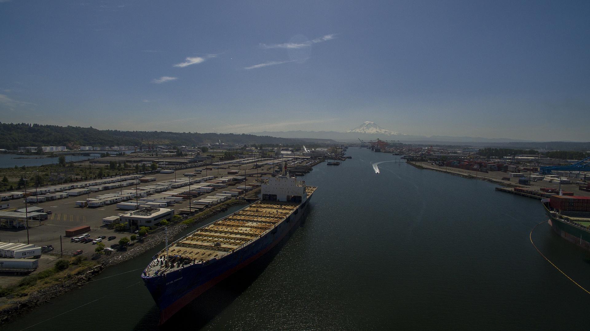 Ashland Aerial - Port of Tacoma